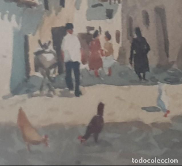 Arte: DOS CUADROS DE PEDRO VILARROIG, ACUARELA - Foto 14 - 160551862
