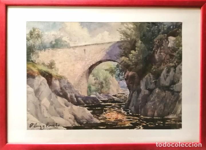 Arte: BONAVENTURA PUIG PERUCHO (BARCELONA, 1886 - 1977) - Foto 2 - 161164026