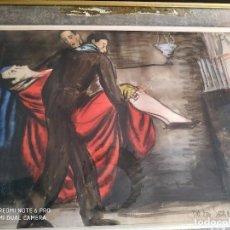 Arte: GONZÁLEZ DE LA SERNA, ISMAEL. CUADRO FIRMADO 1920. Lote 161358678