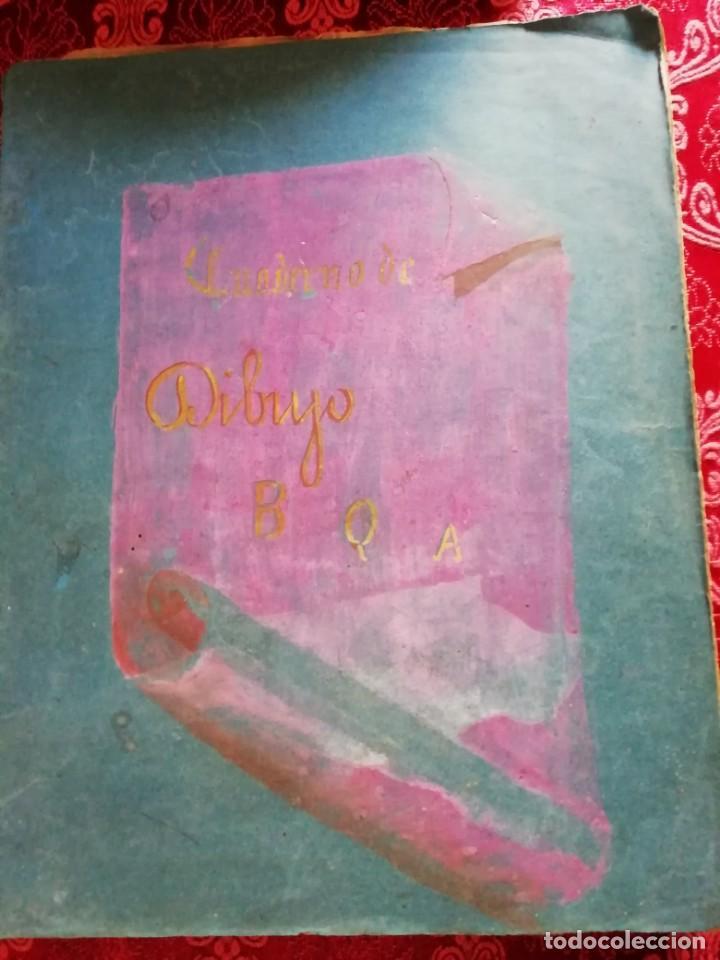 Arte: cuaderno con 6 dibujos ,acuarelas de bonifacio quevedo años 1910-1912 Barros (cantabria ) - Foto 2 - 162015698