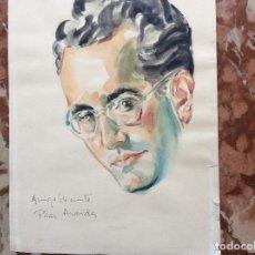 Arte: ACUARELA DE PILAR ARANDA NICOLÁS 1914-1997. Lote 162592194