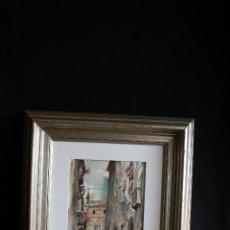 Arte: JULIO QUESADA GUILABERT (MADRID;1918- MADRID; 2009) EXCELENTE ACUARELA. FIRMADA. Lote 163345502