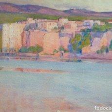Arte: ACUARELA DE JOSE CIVIL PICARILL (BARCELONA 1878-1959). HAY OBRA SUYA EN EL MUSEO MARTÍNEZ LOZANO.. Lote 163585582