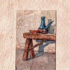Arte: DIBUJO/ACUARELAS DE ALFONS VINYALS ROIG DE VILANOVA I LA GELTRÚ. (1860-1943). Lote 163718538
