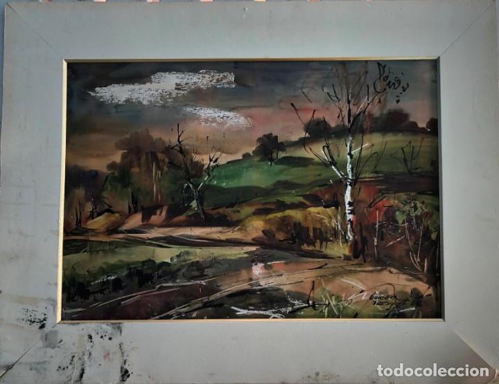 Arte: Guillem Fresquet Acuarela de Polinyà - Foto 2 - 163959046
