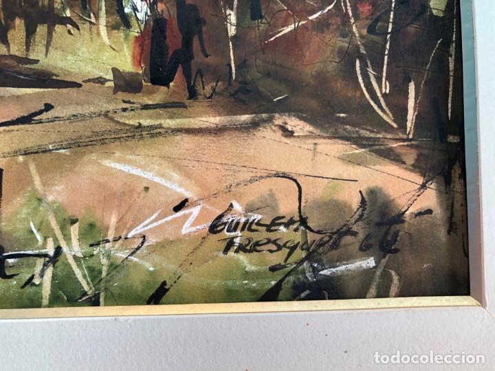 Arte: Guillem Fresquet Acuarela de Polinyà - Foto 3 - 163959046