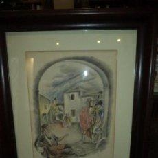 Arte: ACUARELA DE JOSE LUIS FLORIT RODERO. Lote 164210258