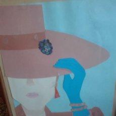 Arte: COLLAGE 38X50 FIRMADO JAVI 1989. Lote 164473570