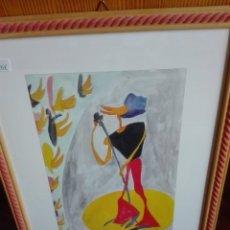 Arte: FIRMADO POR GAMBETTA ACUARELA EN COLOR. Lote 164666430