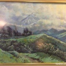 Arte: ANTONIO GONZÁLEZ SUÁREZ -ACUARELA 1962. Lote 164810938