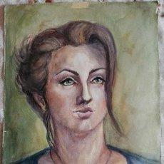 Kunst - Antigua acuarela original firmada - 164821634