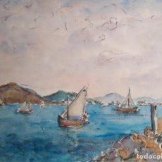 Arte: BERNAT YLLA BACH. POLLENSA, MALLORCA. Lote 165297570