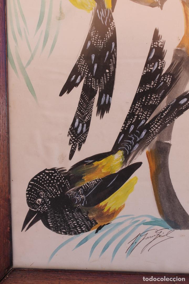 Arte: PAREJA DE ACUARELAS DE JOSEFA GARCIA GIL - Foto 6 - 165862374