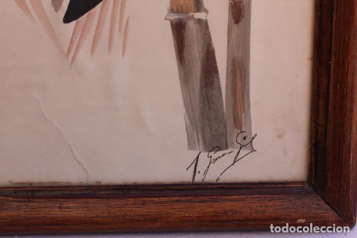 Arte: PAREJA DE ACUARELAS DE JOSEFA GARCIA GIL - Foto 10 - 165862374