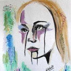 Arte: TRISTEZA OBRA DE GILABERTE . Lote 165926878