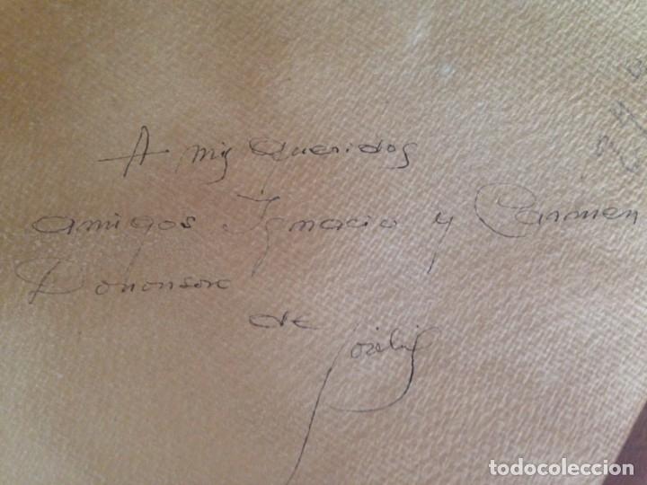 Arte: IMAGEN PLAZA DE PUEBLO PAÍS VASCO. ACUARELA SOBRE CARTÓN - AUTOR; JOSE LUIS ?ILA. 1945 - Foto 10 - 166041718