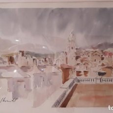 Arte: ACUARELA DE JOSEP MUNTAL. Lote 166303886