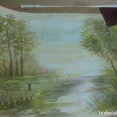 Arte: ACUARELA DE M. VILA. 66 X 46 M. Lote 166384374