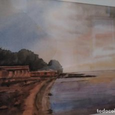 Kunst - Acuarela firmada y enmarcada - 167669948