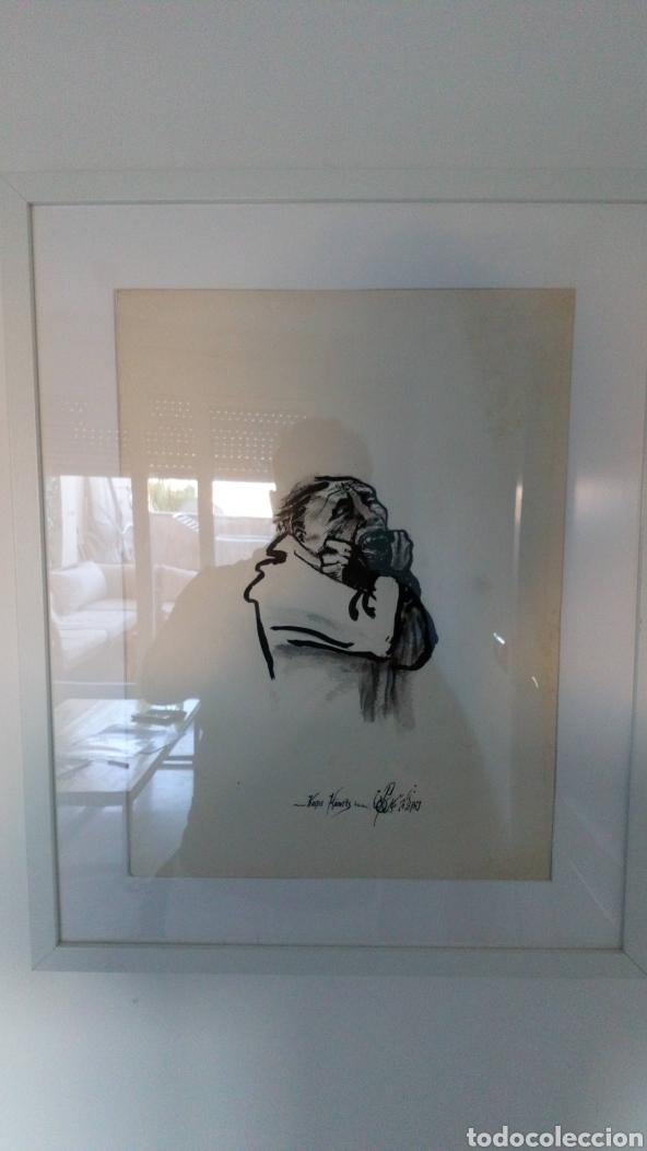 KATHE KOLLWITZ REPRODUCCIÓN PINTADO DE ARTISTA DESCONOCIDO (Arte - Acuarelas - Modernas siglo XIX)