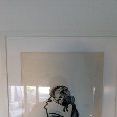 Arte: KATHE KOLLWITZ REPRODUCCIÓN PINTADO DE ARTISTA DESCONOCIDO. Lote 167736769