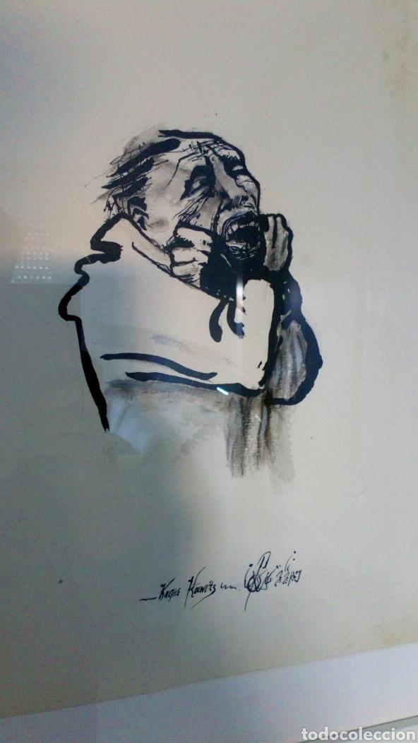 Arte: Kathe kollwitz Reproducción pintado de artista desconocido - Foto 2 - 167736769