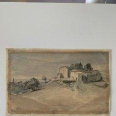 Arte: ACUARELA SIGLO XIX. Lote 167940372