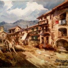Arte: MARIANO BRUNET ( HOSTALETS DE BASS , OLOT). Lote 168009770