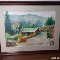 Arte: ACUARELA PAISAJE DEL AUTOR ALICANTINO P.CORRAL. Lote 168544824