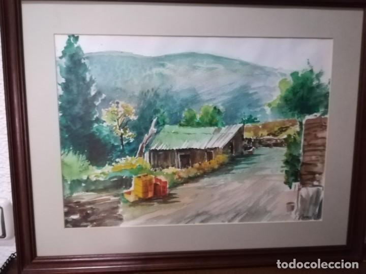 Arte: ACUARELA PAISAJE DEL AUTOR ALICANTINO P.CORRAL - Foto 2 - 168544824