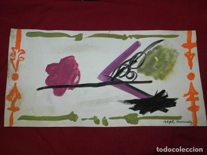 Arte: (M) Ràfols Casamada - Lote de 5 Acuarelas Originales de la Pelicula SENSO - Film Luchino Visconti - Foto 3 - 169579388