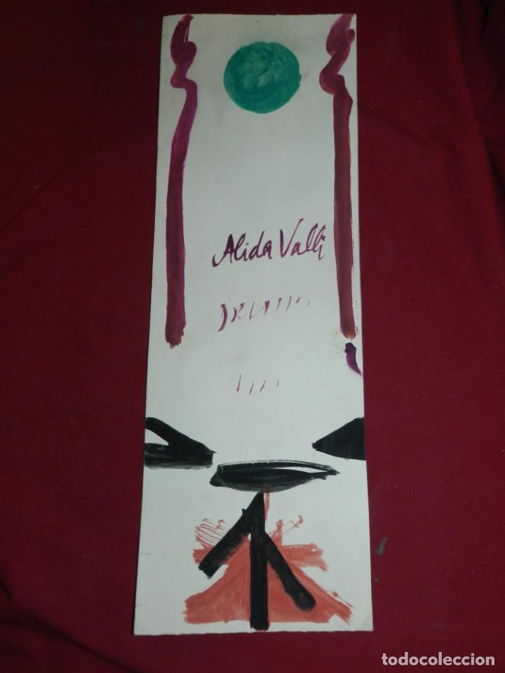 Arte: (M) Ràfols Casamada - Lote de 5 Acuarelas Originales de la Pelicula SENSO - Film Luchino Visconti - Foto 6 - 169579388