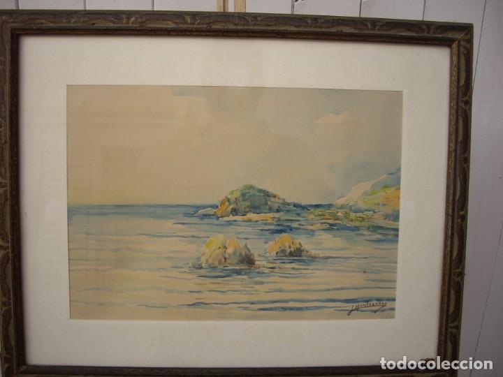 Arte: pareja de acuarelas jose montesinos 1914-1978 - Foto 5 - 169950532