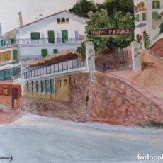 Arte: VILA MALERAS, PINTOR, NACIO 1888-ACUARELA SIN MARCO /CON LA COMPRA DE LOS 2 VILA MALERA. 30 €. Lote 171134518