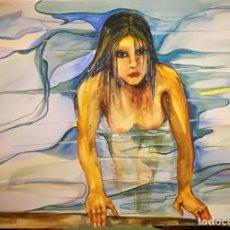 Arte: ACUARELA ORIGINAL. Lote 171142365