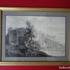 Arte: ACUARELA INGLESA. S. XVIII. Lote 171170684
