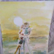Arte: ROMANTICISMO DE LOS 50 ORIGINAL. Lote 171622878