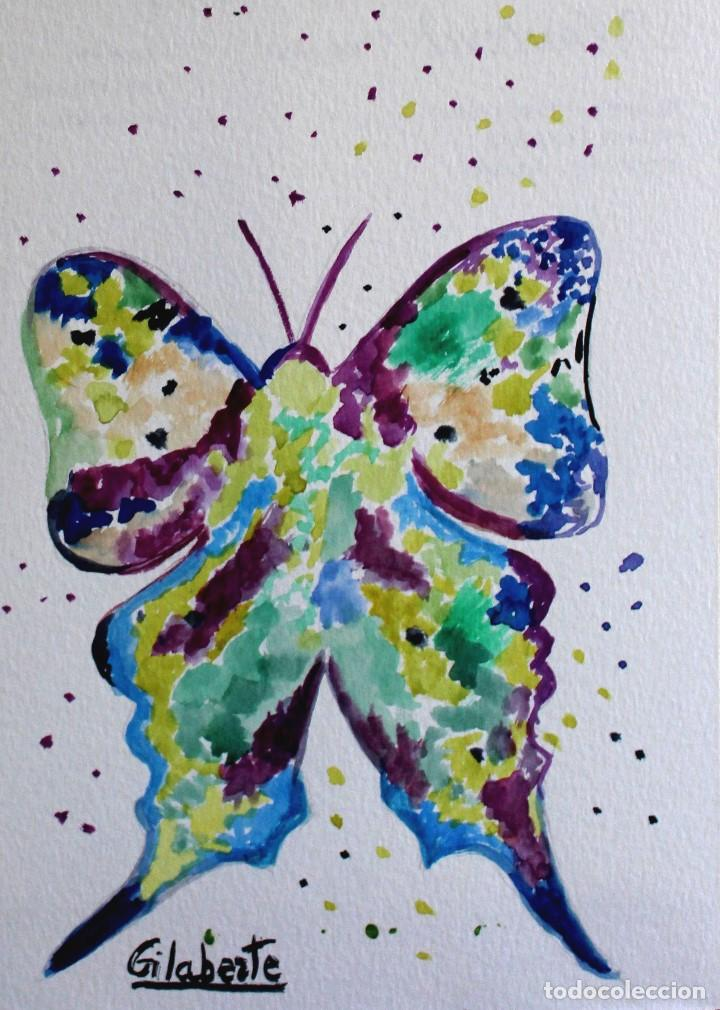 Arte: Mariposa obra de Gilaberte - Foto 2 - 171675778