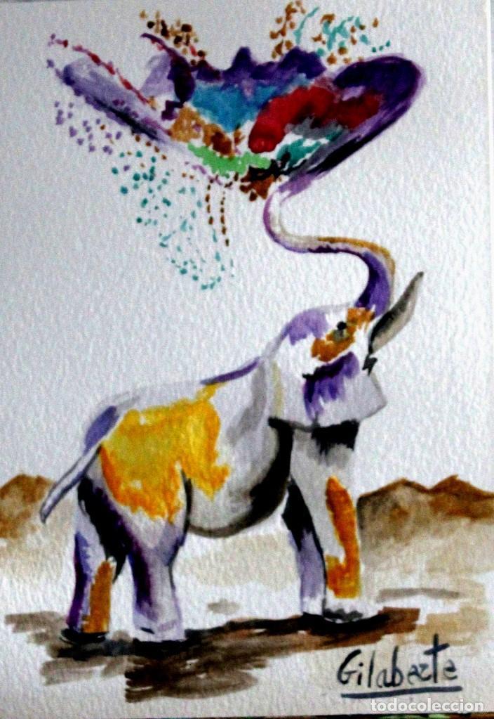 Arte: Elefante obra de Gilaberte - Foto 2 - 171675835