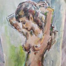 Arte: DESNUDO Y ESCENAS ESPECTACULAR ORIGINAL. Lote 171678848