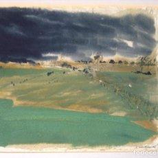 Arte: LLUIS VIDAL (TEJADILLOS, CUENCA, 1951) PAISAJE FIRMADO EN 1996. Lote 171752297
