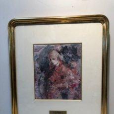 Arte: PRECIOSA ACUARELA DEL PINTOR JOSEP SALA.. Lote 172082888
