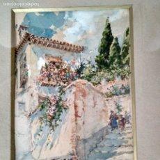 Arte: ENRIQUE MARÍN SEVILLA (ACUARELA ALBAYZÍN). Lote 173155204
