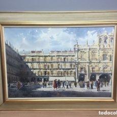 Arte: ACUARELA FIRMADA POR VICENTE PASTOR CALPENA. Lote 173198872