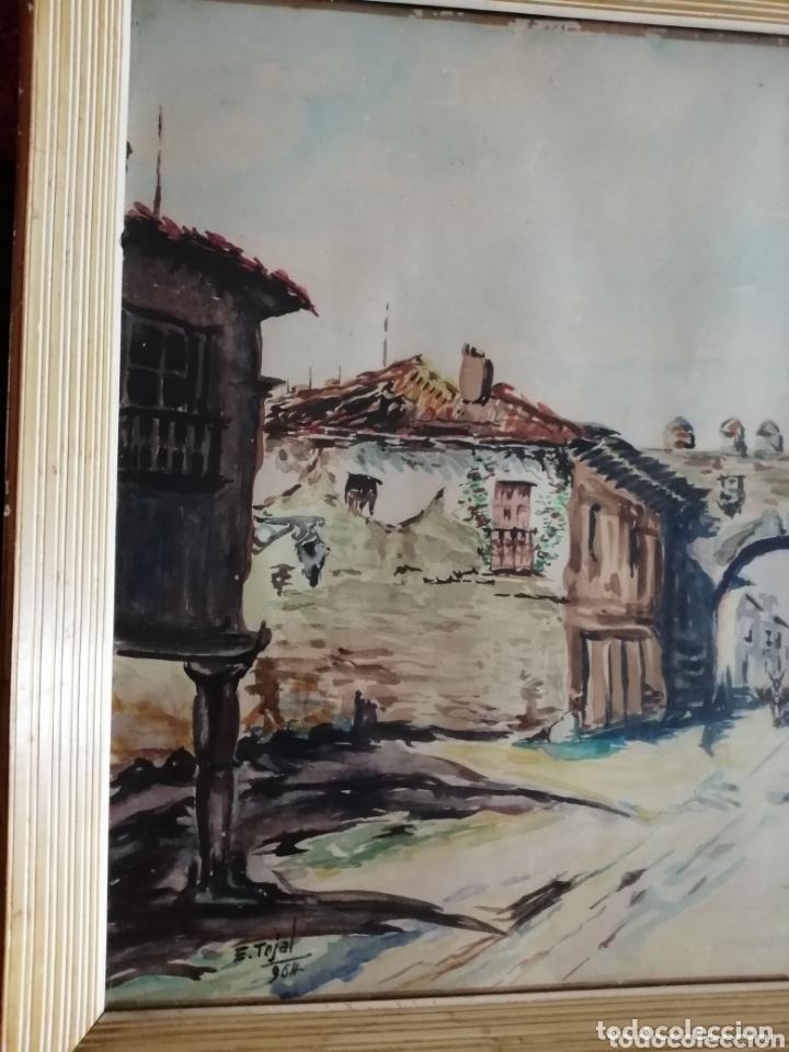Arte: E. Tojal. Acuarela de 1964. - Foto 5 - 173230088