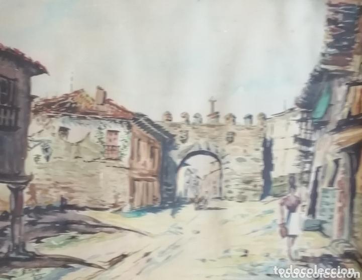 Arte: E. Tojal. Acuarela de 1964. - Foto 8 - 173230088