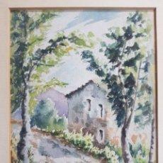 Arte: PAISAJE DE MASIA POR J. MOLL. Lote 173448498