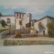 Arte: RODRIGUEZ PESCADOR RINCON DEL ALBAICIN GRANADA ACUARELA. Lote 173634293