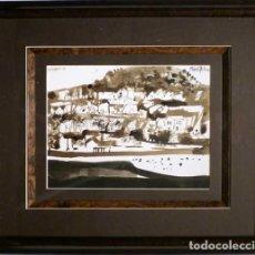 Arte: ACUARELA RAFAEL GRIERA. Lote 173733667