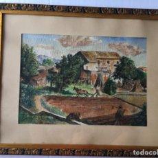 Arte: GUSTAVO COCHET - PAISAJE RURAL . Lote 173809903